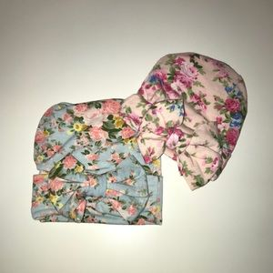 Other - Floral beanies